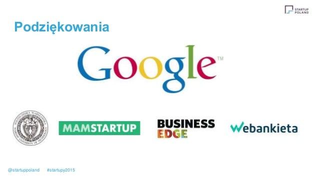 Podziękowania @startuppoland #startupy2015