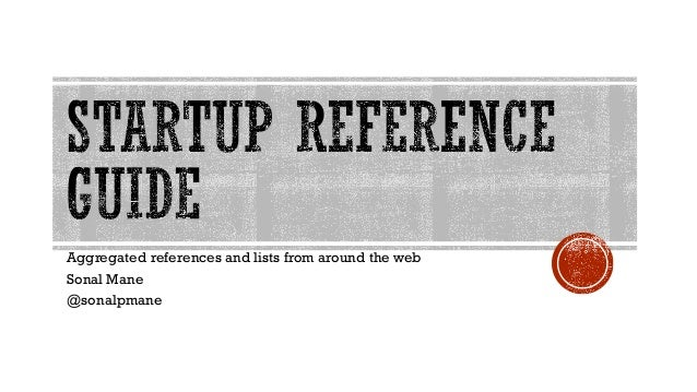Aggregated references and lists from around the web Sonal Mane @sonalpmane