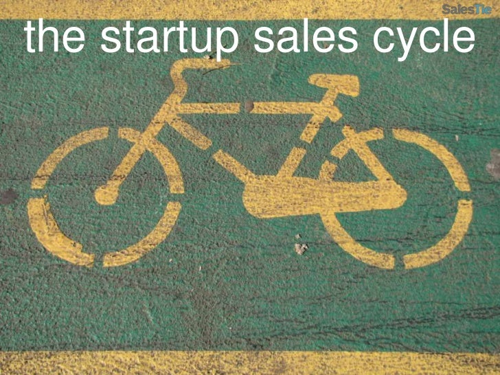 the startup sales cycle<br />