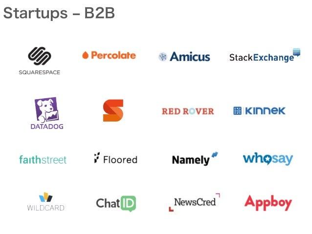 Startups ‒ B2B