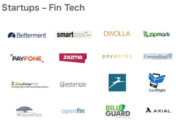 Startups ‒ Fin Tech