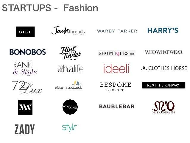 STARTUPS - Fashion