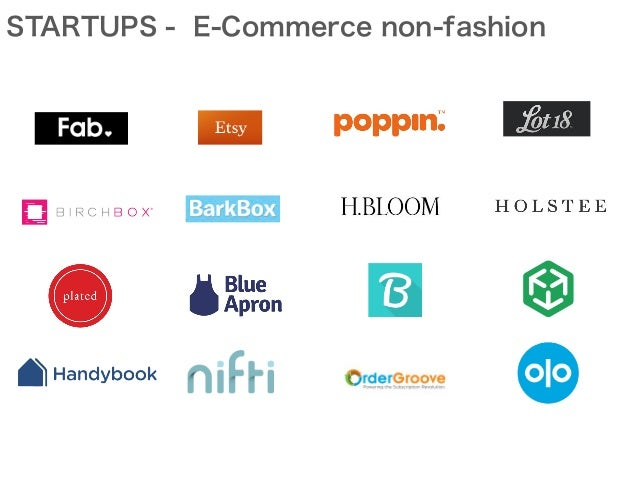 STARTUPS - E-Commerce non-fashion