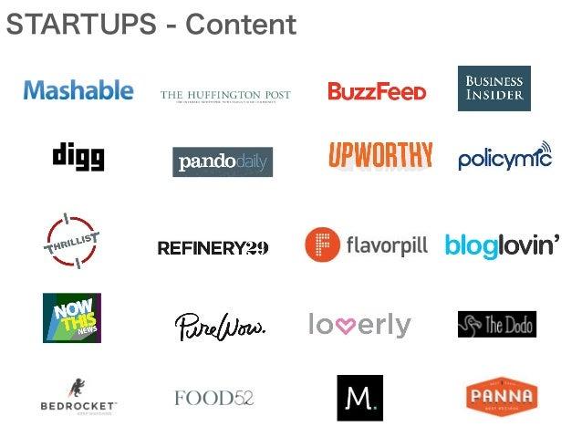 STARTUPS - Content