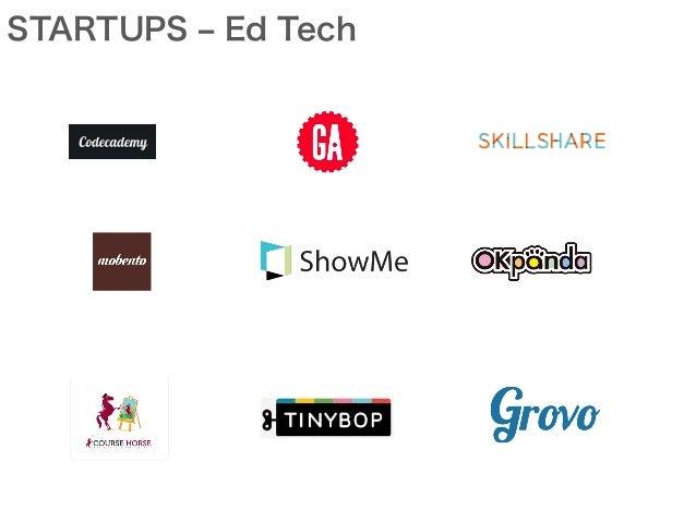 STARTUPS ‒ Ed Tech