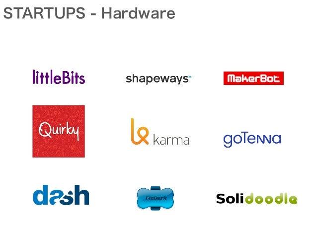 STARTUPS - Hardware