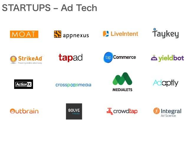STARTUPS ‒ Ad Tech