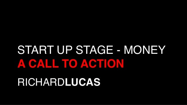 RICHARDLUCAS! START UP STAGE - MONEY