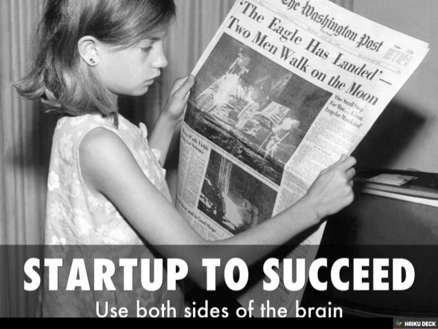 startup to succeed