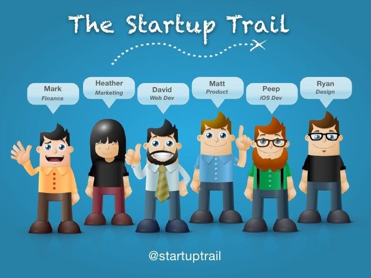 The Startup Trail            Heather               Matt                RyanMark                    David     Product   Pee...