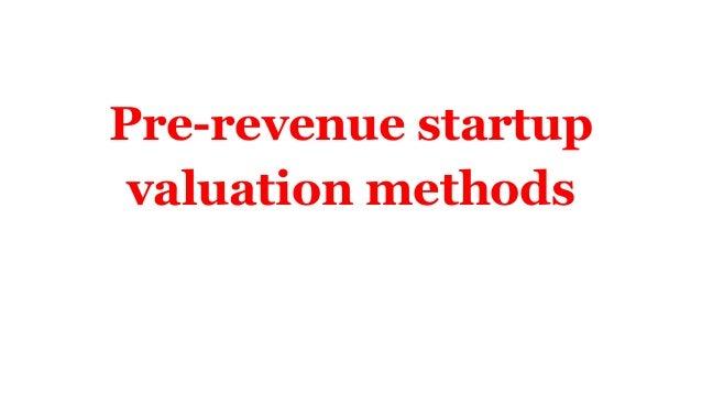 Startup valuation  Slide 2