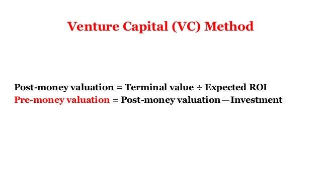 Startup valuation  Slide 3