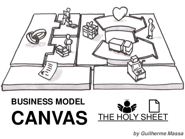 by Guilherme Massa BUSINESS MODEL CANVAS THE HOLY SHEET