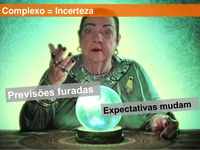 Complexo = Incerteza