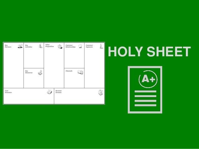 HOLY SHIT ≠ HOLY SHEET