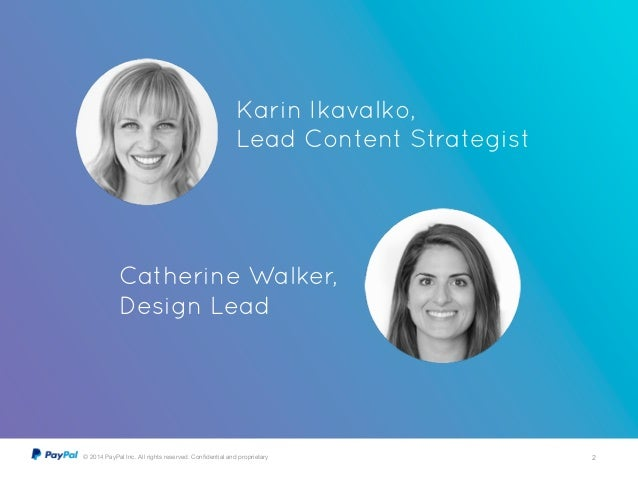 Start with Empathy with Karin Ikavalko and Catherine Walker Slide 2