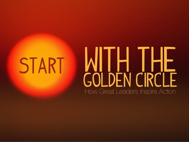 with the Golden CircleHow Great Leaders Inspire Action Start