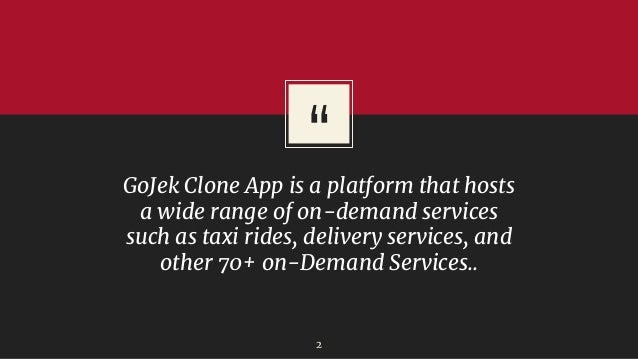 Start your Business in Cambodia with Gojek Clone Slide 2