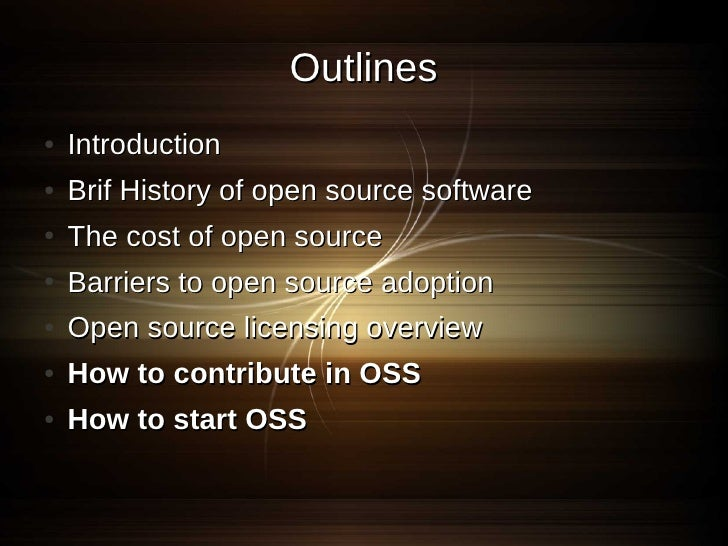 Start your open source project Slide 2