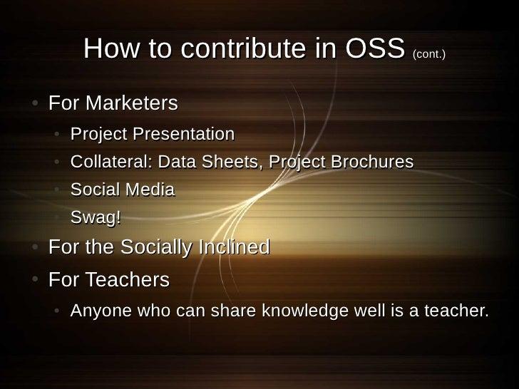 How to start OSS