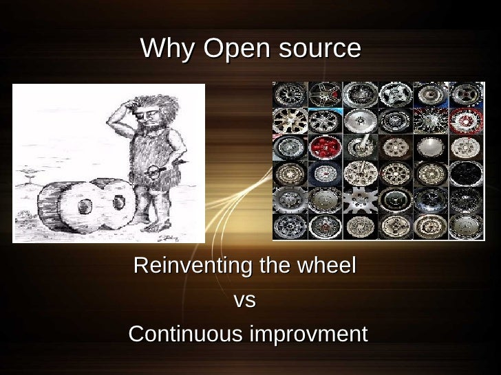 Why Open source        Review by few             Vs       Review by more     More correction and less bugs