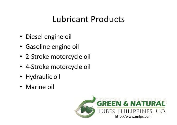 Engine oil business plan