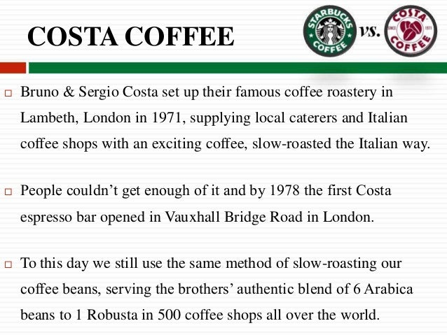 Costa Coffe Essay