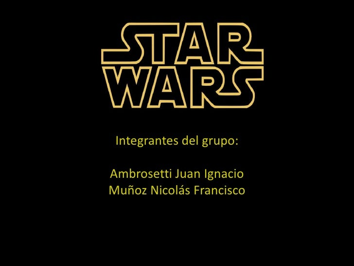 Integrantes del grupo:Ambrosetti Juan IgnacioMuñoz Nicolás Francisco