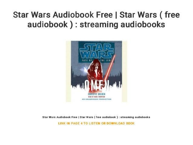 Star Wars Audiobook Free | Star Wars ( free audiobook