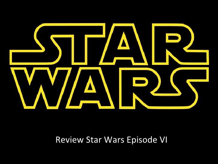 Review Star Wars Episode VI