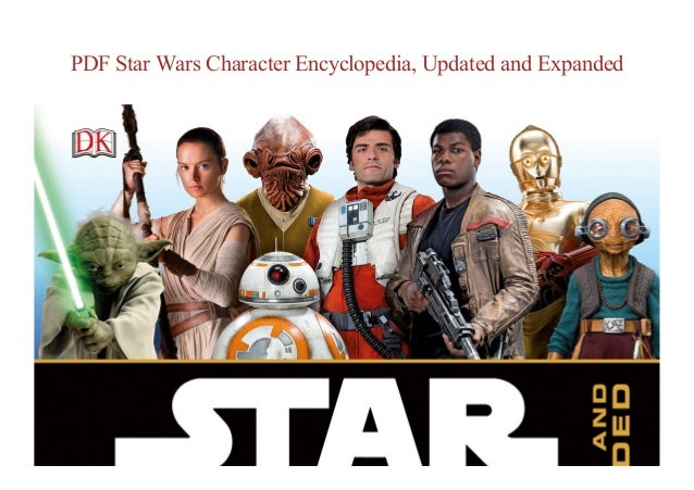 Star Wars Character Encyclopedia Pdf