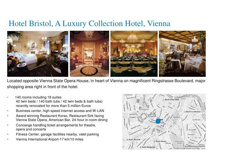 Starwood hotels resorts bratislava vienna salzburg prague
