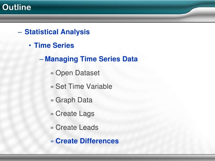 time series analysis What is a time series a time series is a collection of observations of well-defined data items obtained through repeated measurements over time for example.