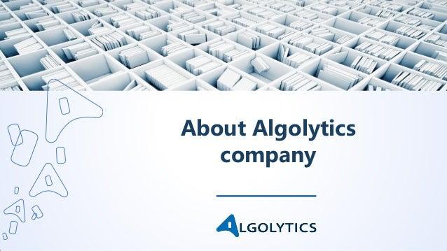 About Algolytics company