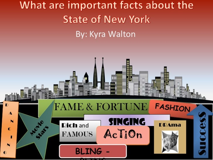 By: Kyra WaltonFAME & FORTUNE                               Success Rich and    Singing   DRAma FAMOUS     AcTiOn     BLIN...