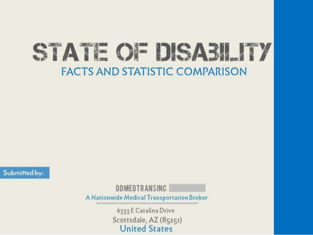 $TATIE Oi:  IJI$A3II. ..IT')'  FACTS AND STATISTIC COMPARISON  Submitted by:   DDMEDTRANSINC  A Nationwide Medical Transpo...