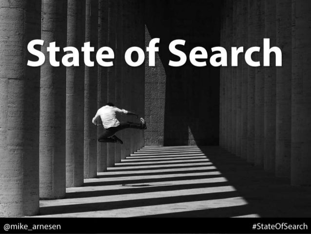 State of Search  OpenGraph  Your Key To Making Content Look Great  On Facebook & Beyond  @mike_arnesen  #StateOfSearch