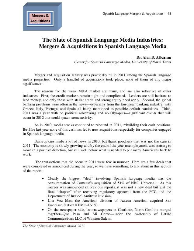 State of Spanish Language Media