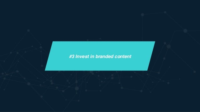 Shift from pre-roll to branded content Rise of New Platforms Bitesize,  On-the-Go Video Consumption Brand as Creator & Pa...
