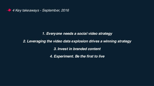 The State of Video Fall 2016