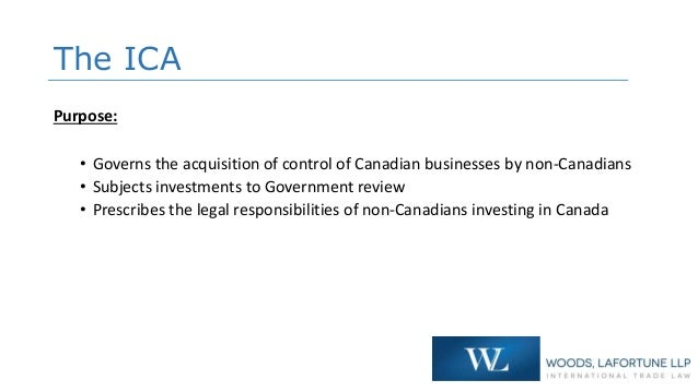 Investment canada act wto investor eforexstore reviews