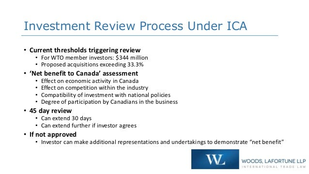 Investment canada act wto investor term level search result diversification of investments