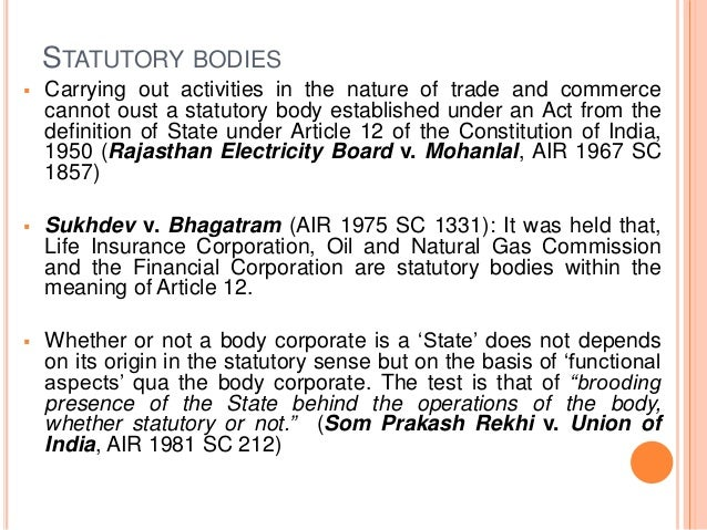 STATUTORY BODIES IN INDIA PDF DOWNLOAD
