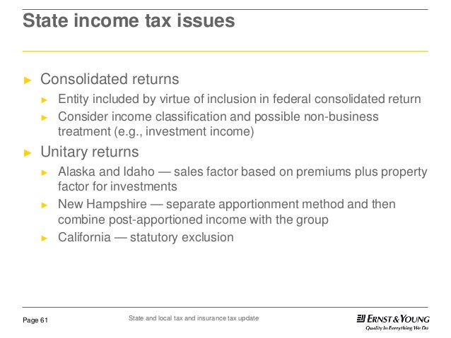 State and local tax and insurance tax update 61 638gcb1354790416 state income tax issues consolidated returns sciox Choice Image