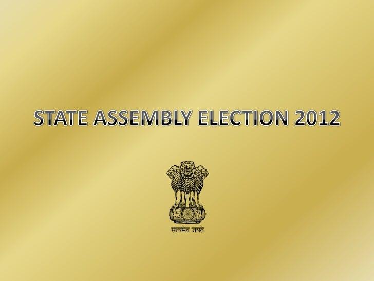 Legislative Assembly Elections in India will be held following states-   Goa   Gujarat   Punjab   Himachal Pradesh   ...