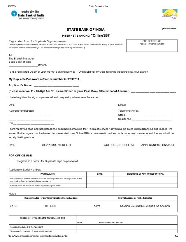 state-bank-of-india-1-638 Job Application Form Of State Bank India on