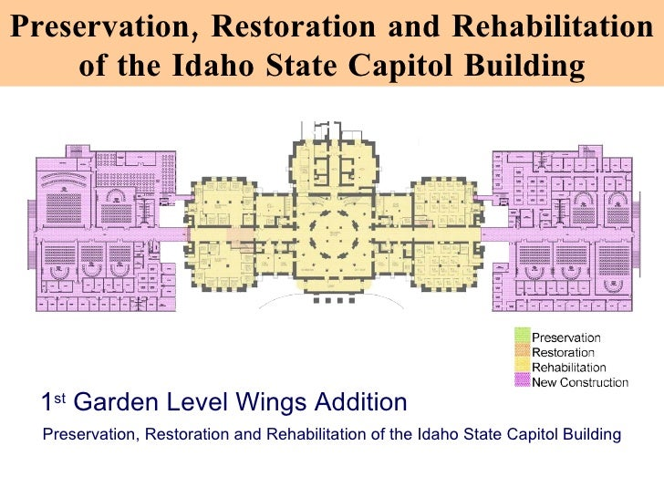Idaho State Capitol Building Floor Plan