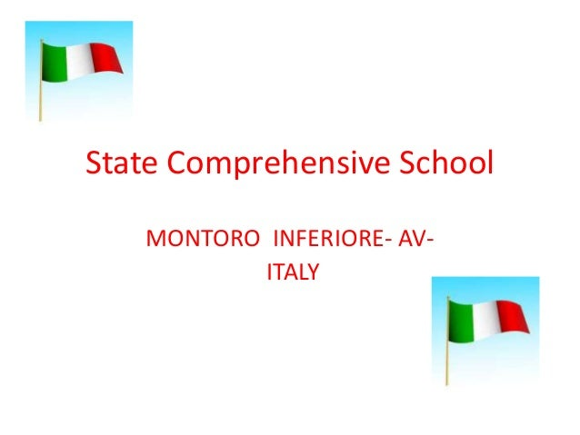 State Comprehensive School MONTORO INFERIORE- AVITALY