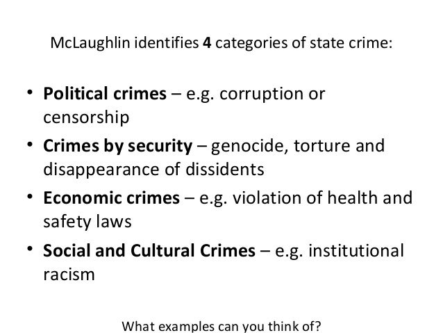 Ppt white collar crime political crime powerpoint presentation.