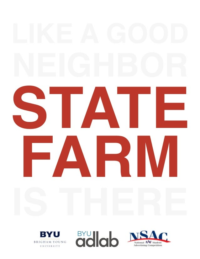 like a good state farm is there neighbor